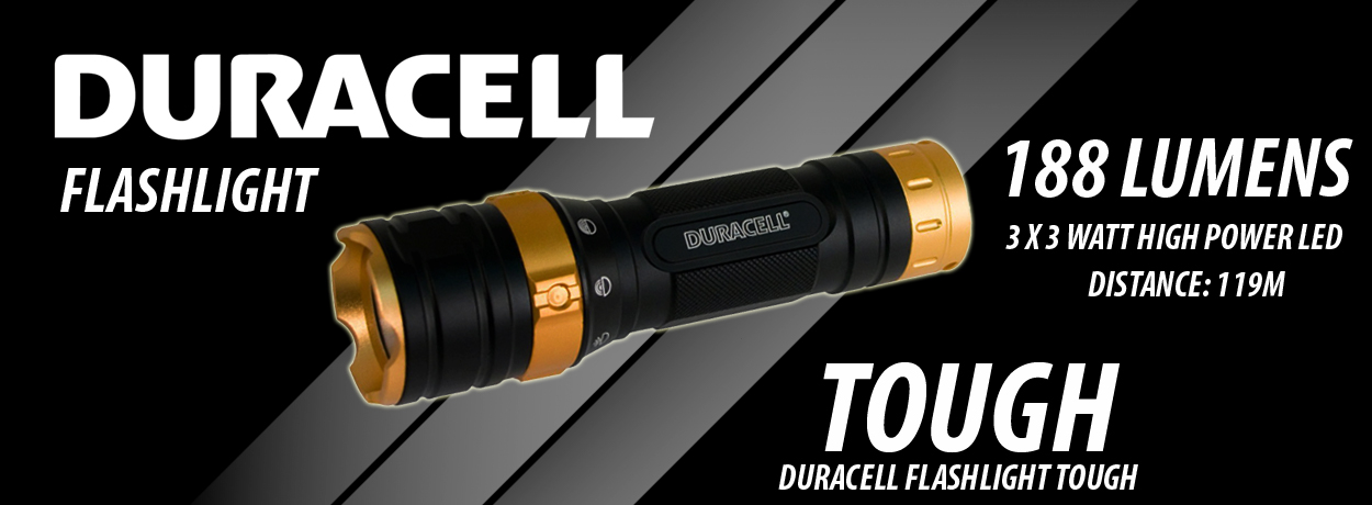 Duracell Flashlight